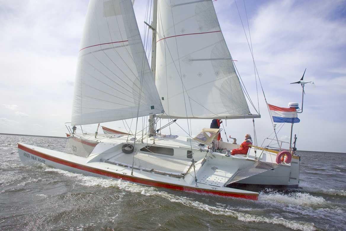 small cruising catamaran plans